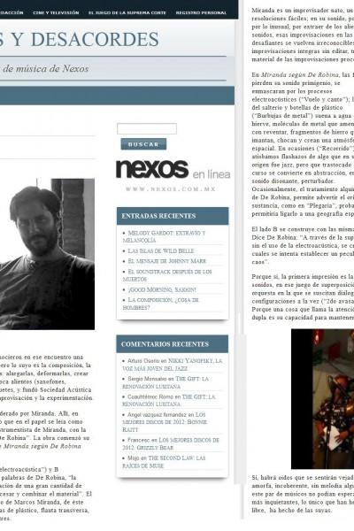 MSDR nexos